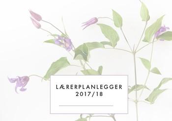 Lærerplanlegger 2017-18 - liggende - flowers