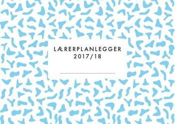 Lærerplanlegger 2017-18 - liggende - ukesvisning
