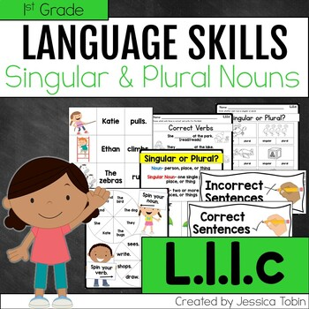 L.1.1.c- Singular and Plural Nouns