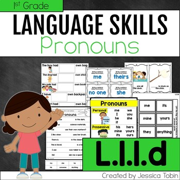 L.1.1.d- Pronouns- Personal, Possessive, and Indefinite Pronouns