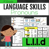 L.1.1.d- Pronouns- Personal, Possessive, and Indefinite Pr