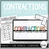 L.2.2c - Contractions | Grammar Lesson Kit for Hybrid Learning