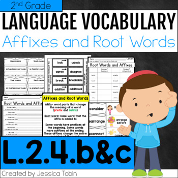L.2.4.b and L.2.4.c- Root Words and Affixes