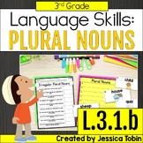L.3.1.b Plural Nouns- Regular and Irregular Plural Nouns - L3.1.b