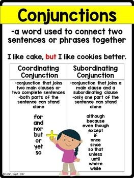 l 3 1 h coordinating conjunctions and subordinating conjunctions