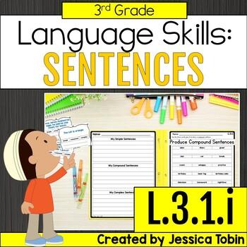 L.3.1.i Simple, Compound, and Complex Sentences