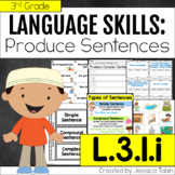 L.3.1.i Simple, Compound, and Complex Sentences - L3.1.i
