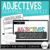 L.3.1a - Adjectives | Grammar Lesson Kit for Hybrid Learning