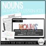 L.3.1a - Nouns | Grammar Lesson Kit for Hybrid Learning