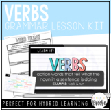 L.3.1a - Verbs | Grammar Lesson Kit for Hybrid Learning