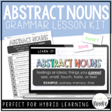 L.3.1c - Abstract Nouns | Grammar Lesson Kit for Hybrid Learning