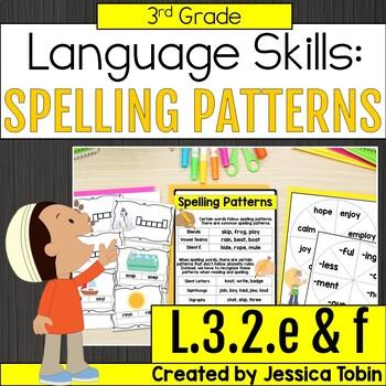 L.3.2.e & L.3.2.f- Spelling Patterns