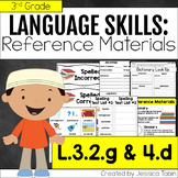 L.3.2.g and L.3.4.d- Dictionary Skills and Reference Mater