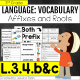 L.3.4.b L.3.4.c- Affixes and Root Words (Prefix and Suffix)