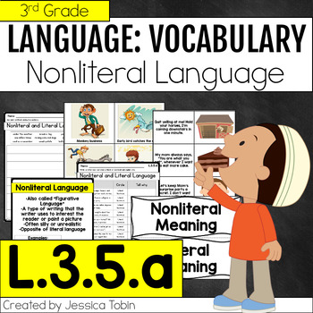 L.3.5.a- Nonliteral and Literal Meanings, Figurative Language