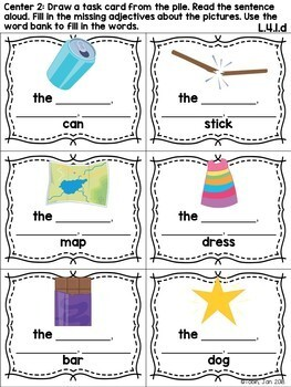 L.4.1.d- Ordering Adjectives
