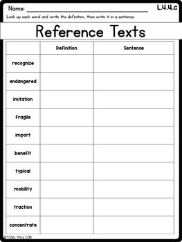 L.4.4.c Reference Materials