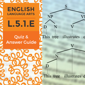L.5.1.E - Quiz and Answer Guide