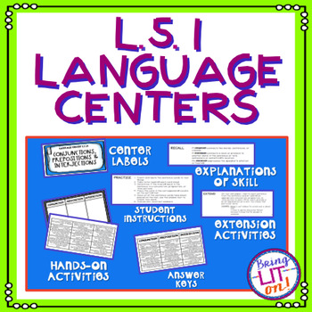 L.5.1 Language Centers Bundle