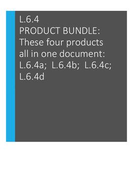 L.6.4 Product Bundle - Review, Assess, Reinforce L.6.4a,6.