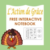 L' Action de Grâce: French Thanksgiving Free Interactive N