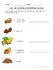 L'Action de Grâce - French Thanksgiving Vocab Activities and Quiz (Gr. 4-7)