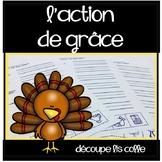 Action de grâce - Découpe, Lis, Colle, Thanksgiving Cut, R