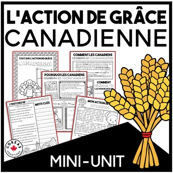 L'Action de grâce canadienne | Canadian Thanksgiving | French