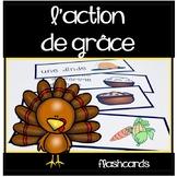 Action de grâce - Murs de mots - Thanksgiving Flashcards