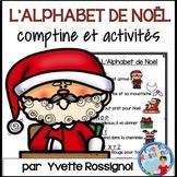 L'Alphabet de Noël (Comptine et activités) français, French Christmas Alphabet