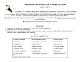 L'Amazonie Research Project: Animals of the Amazon in French, Bien Dit 2: Ch 7