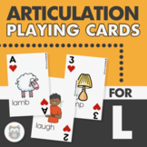 Articulation Playing Cards for L - Card Deck