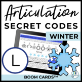 L Articulation Secret Codes BOOM Cards for Digital Speech