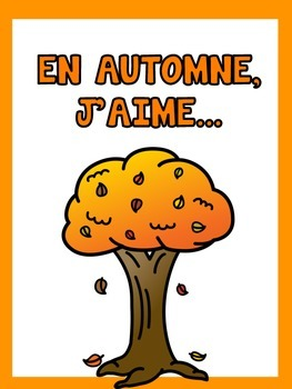 L' Automne  {A fun craft to welcome the fall to class}