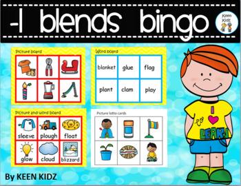 L BLENDS BINGO