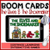 BOOM CARDS CHRISTMAS STORY:THE ELVES AND SHOEMAKER Reading