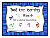 L Blend Activities