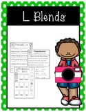 L Blend Activities- Includes bl,gl,sl,fl,cl,pl