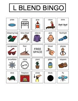 L Blend Bingo