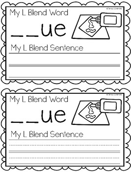 L Blend Writing Book