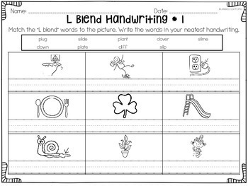 L Blend Centers and Activities