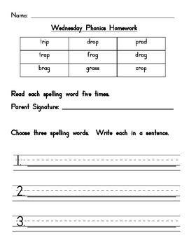 L Blend Homework