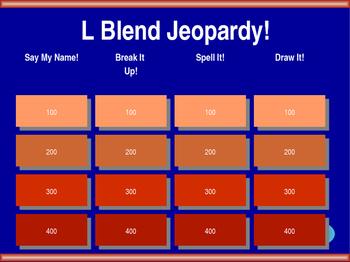 L Blend Jeopardy!