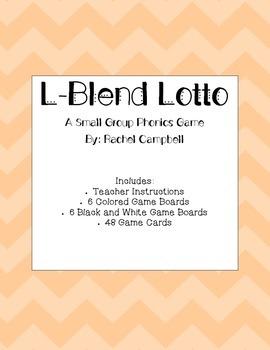 L-Blend Lotto: A Phonics Game