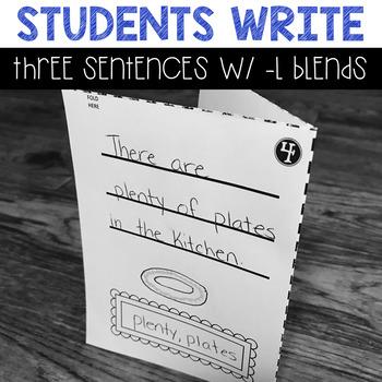 Mini Books: L Blends