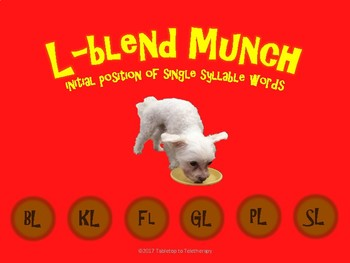 L-Blend Munch (initial position/1 syllable)