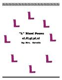 L Blend Phonics Poems