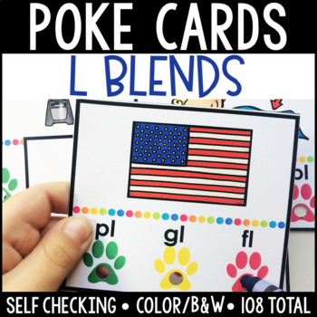 L Blend Self Checking Poke Cards