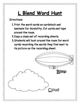 L Blend Word Hunt