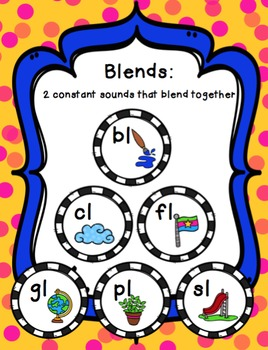 L Blend Word Work Packet